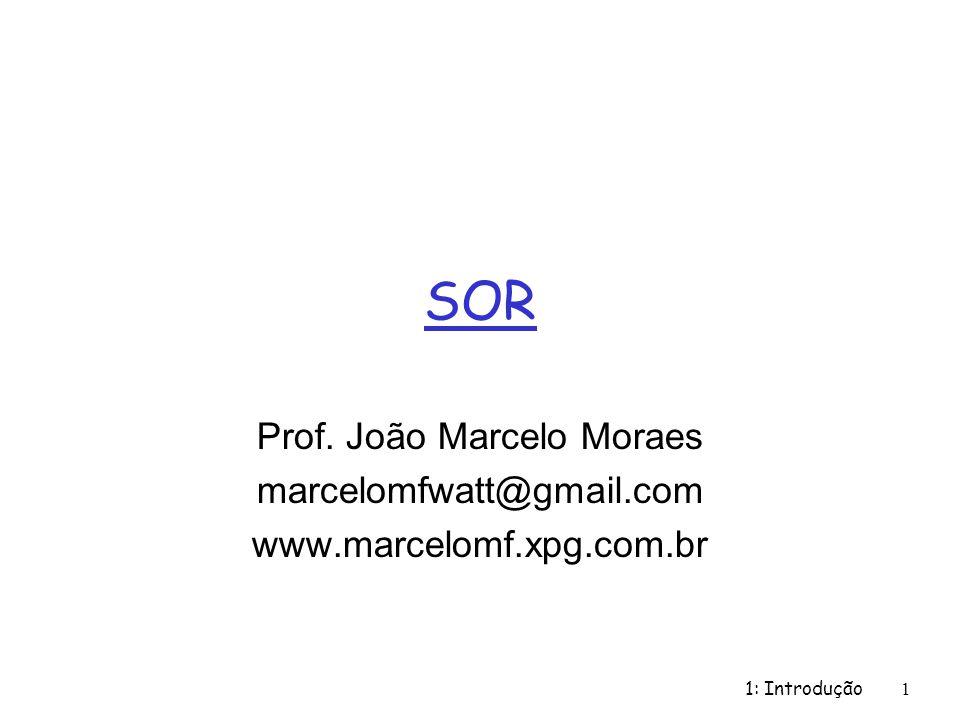 Prof. João Marcelo Moraes