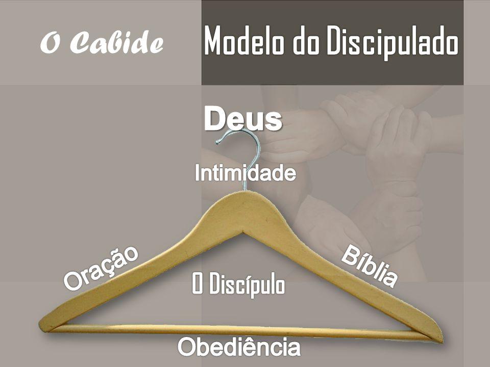 Modelo do Discipulado O Cabide Deus O Discípulo Oração Bíblia