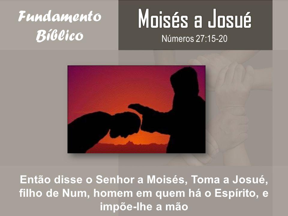 Moisés a Josué Fundamento Bíblico