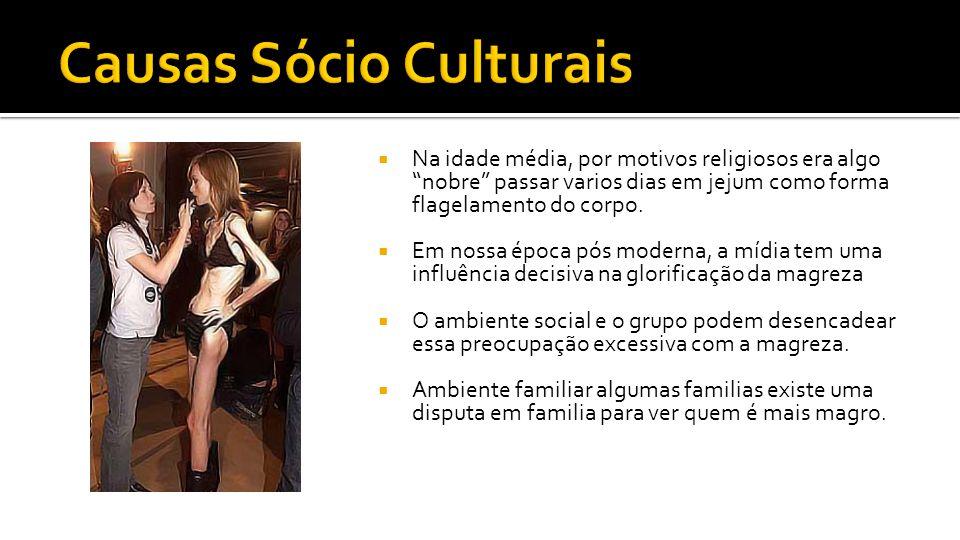 Causas Sócio Culturais