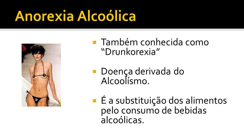 Anorexia Alcoólica Também conhecida como Drunkorexia