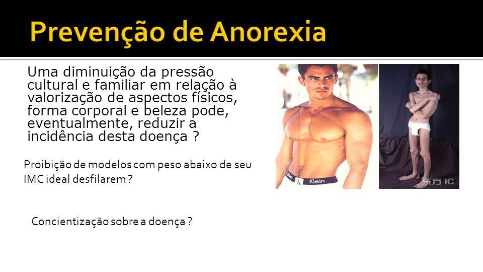 Prevenção de Anorexia
