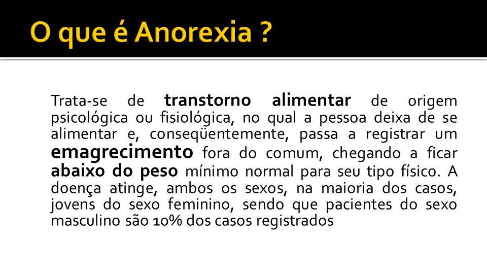 O que é Anorexia