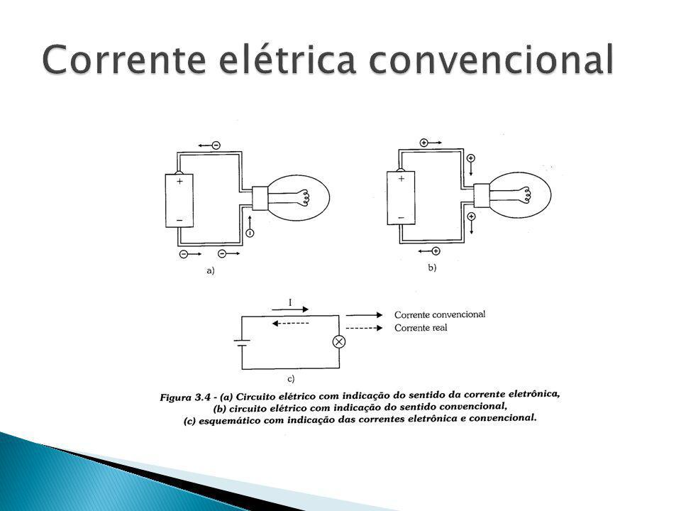 Corrente elétrica convencional