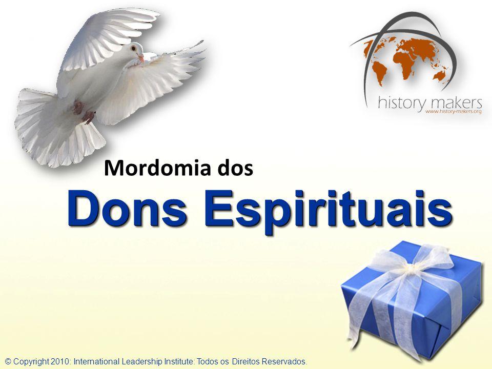 Dons Espirituais Mordomia dos