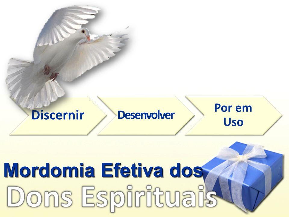 Discernir Desenvolver Por em Uso Mordomia Efetiva dos Dons Espirituais