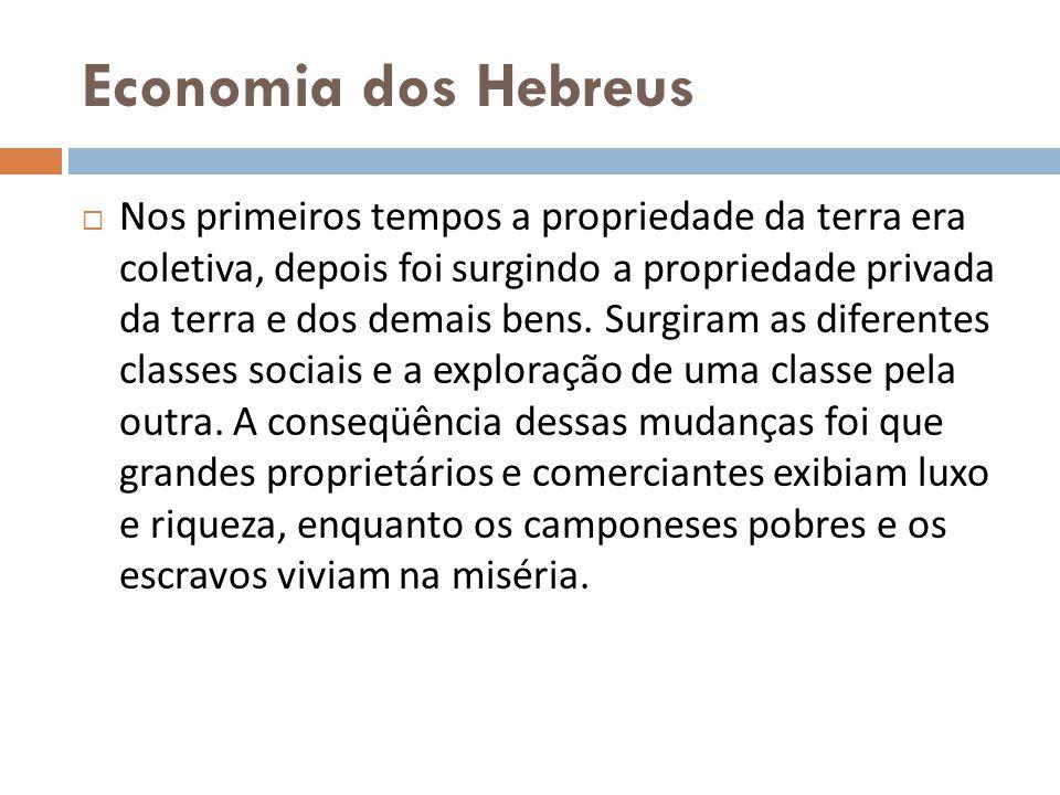 Economia dos Hebreus