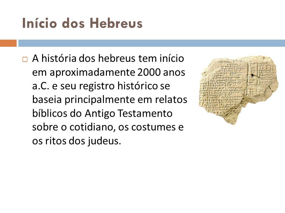Início dos Hebreus