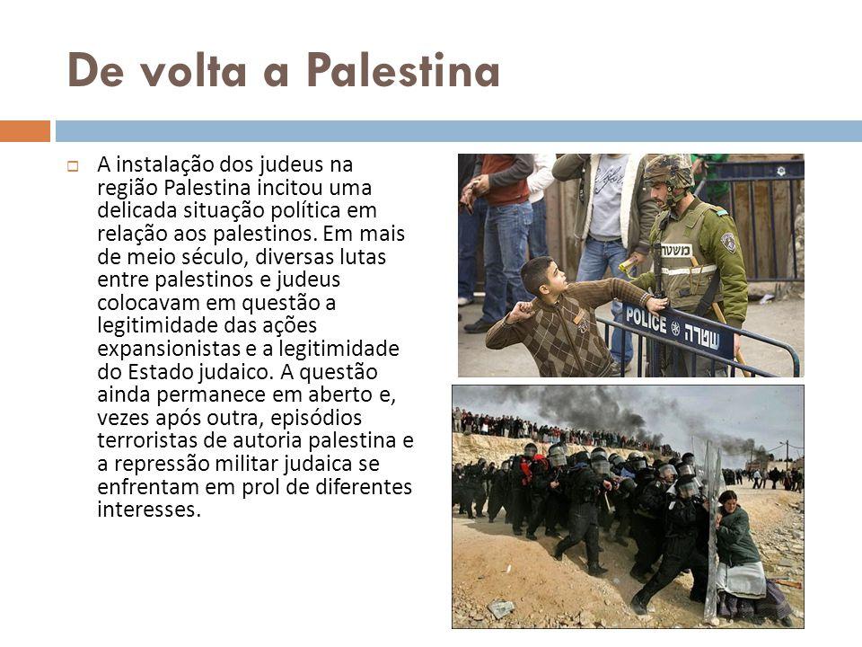 De volta a Palestina