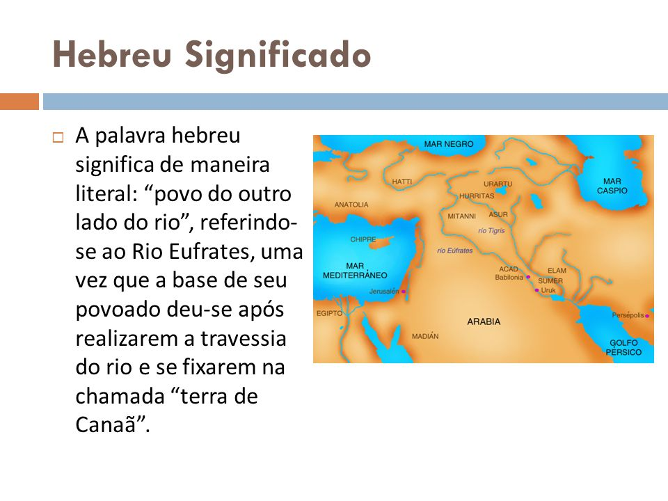 Hebreu Significado