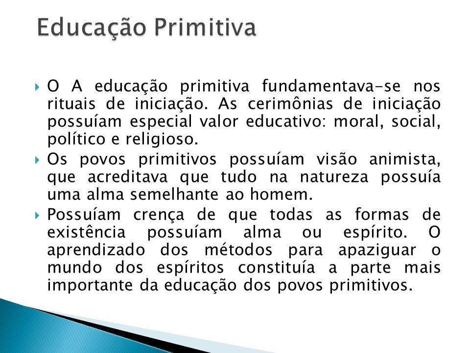 Educação Primitiva