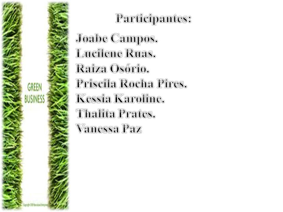 Participantes: Joabe Campos. Lucilene Ruas. Raiza Osório. Priscila Rocha Pires. Kessia Karoline.
