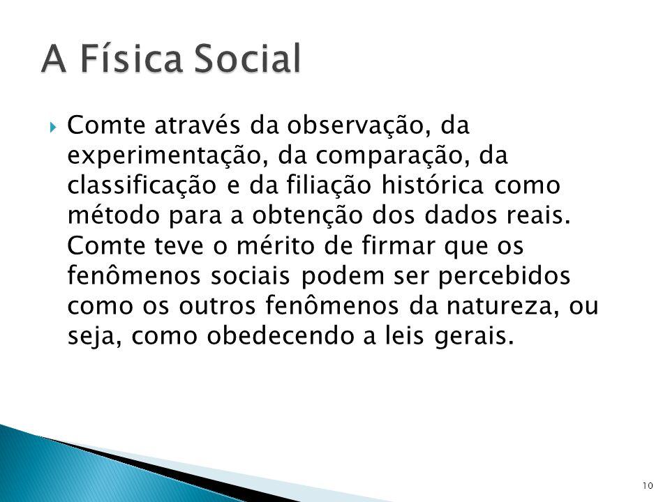 A Física Social