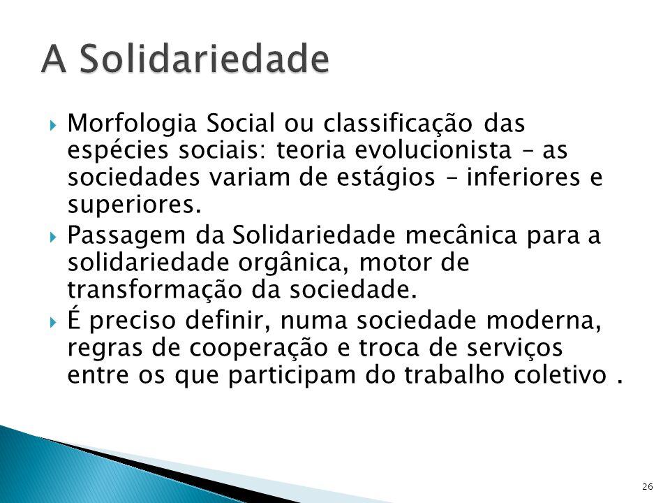 A Solidariedade