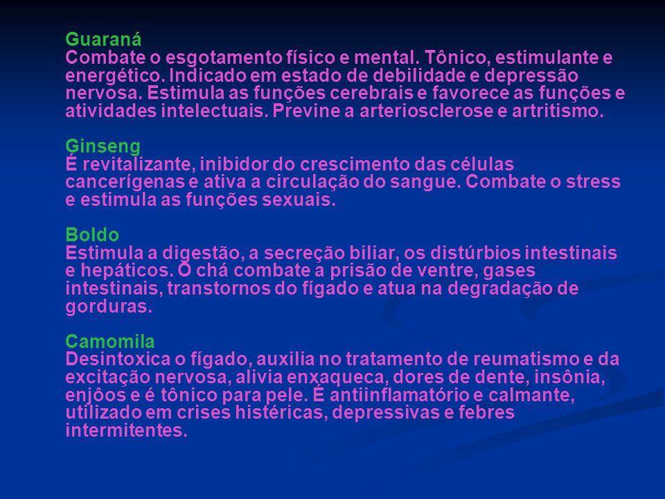 Guaraná Combate o esgotamento físico e mental