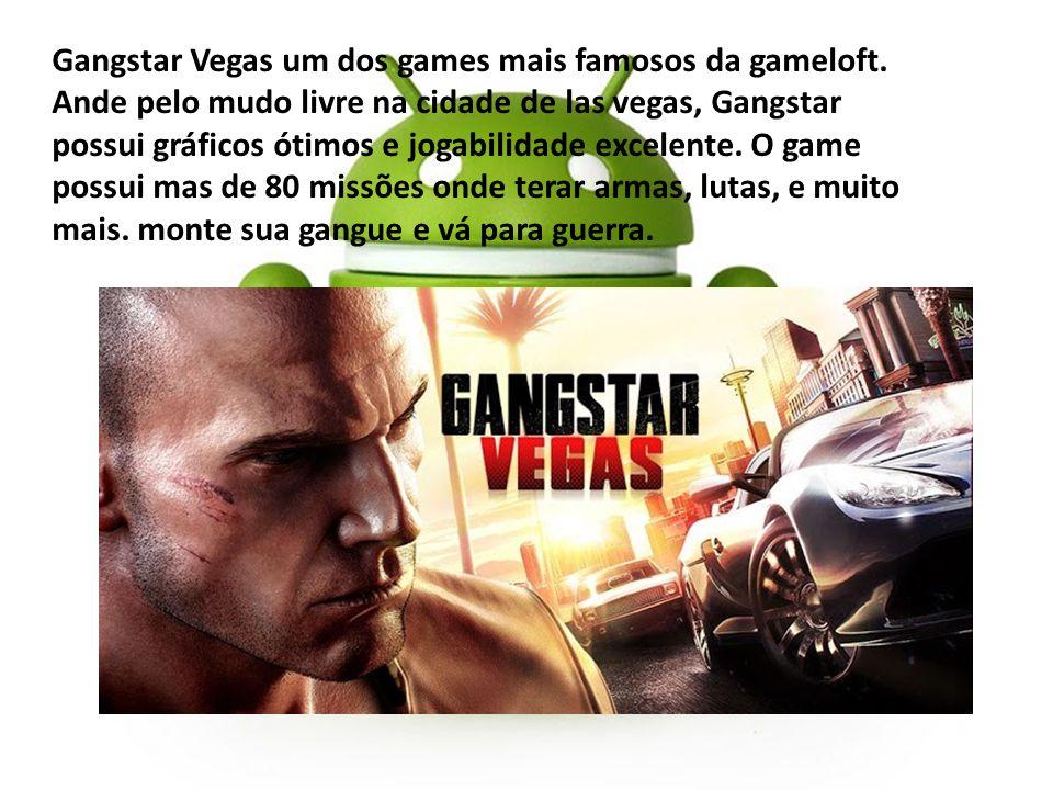 Gangstar Vegas um dos games mais famosos da gameloft
