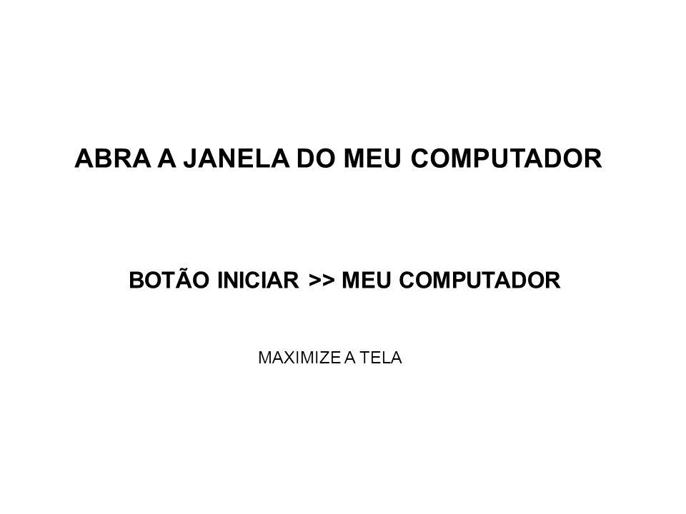 ABRA A JANELA DO MEU COMPUTADOR