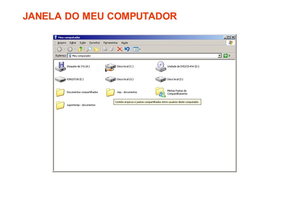 JANELA DO MEU COMPUTADOR