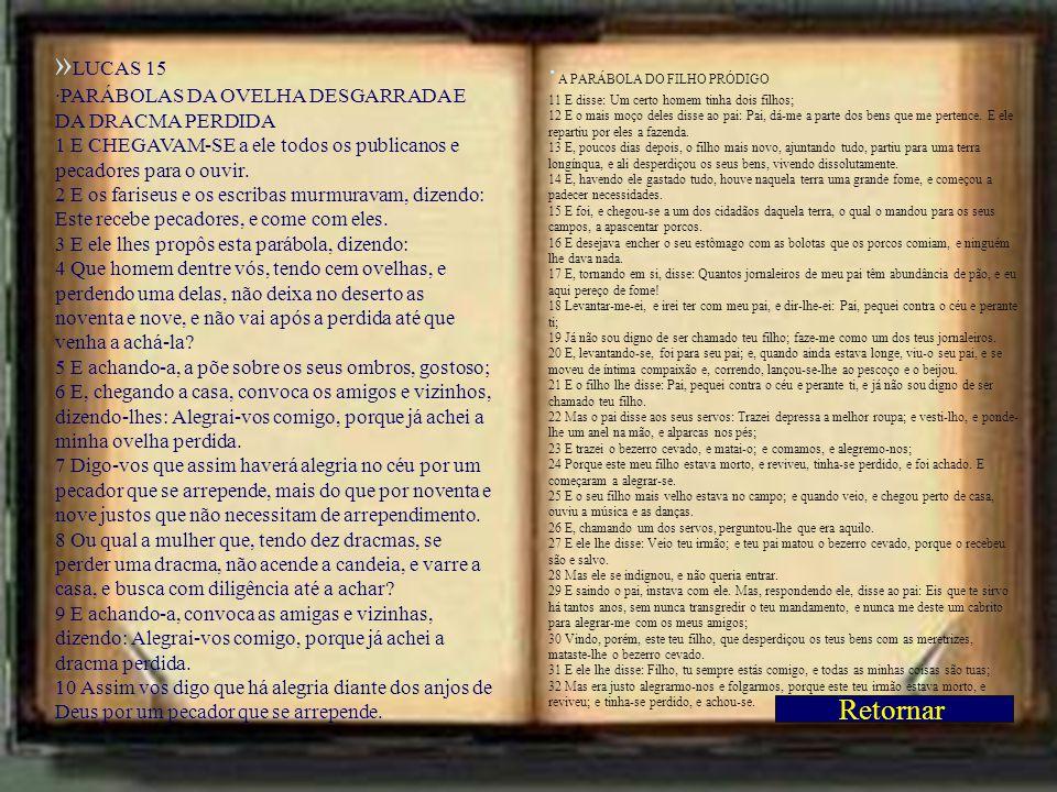 ·A PARÁBOLA DO FILHO PRÓDIGO »MATEUS 6