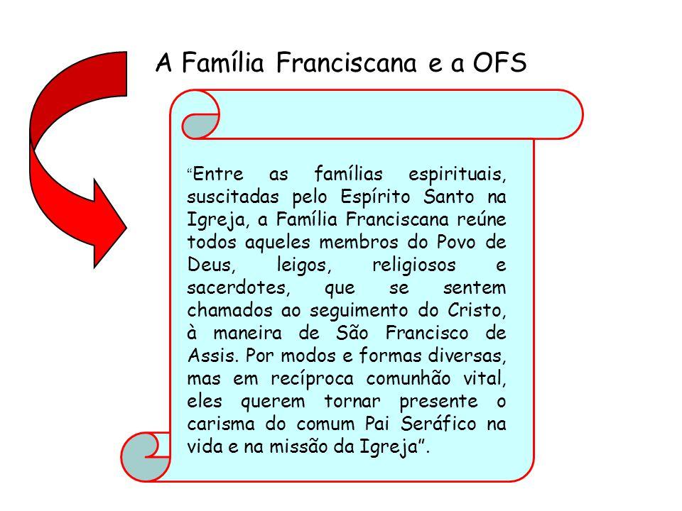 A Família Franciscana e a OFS