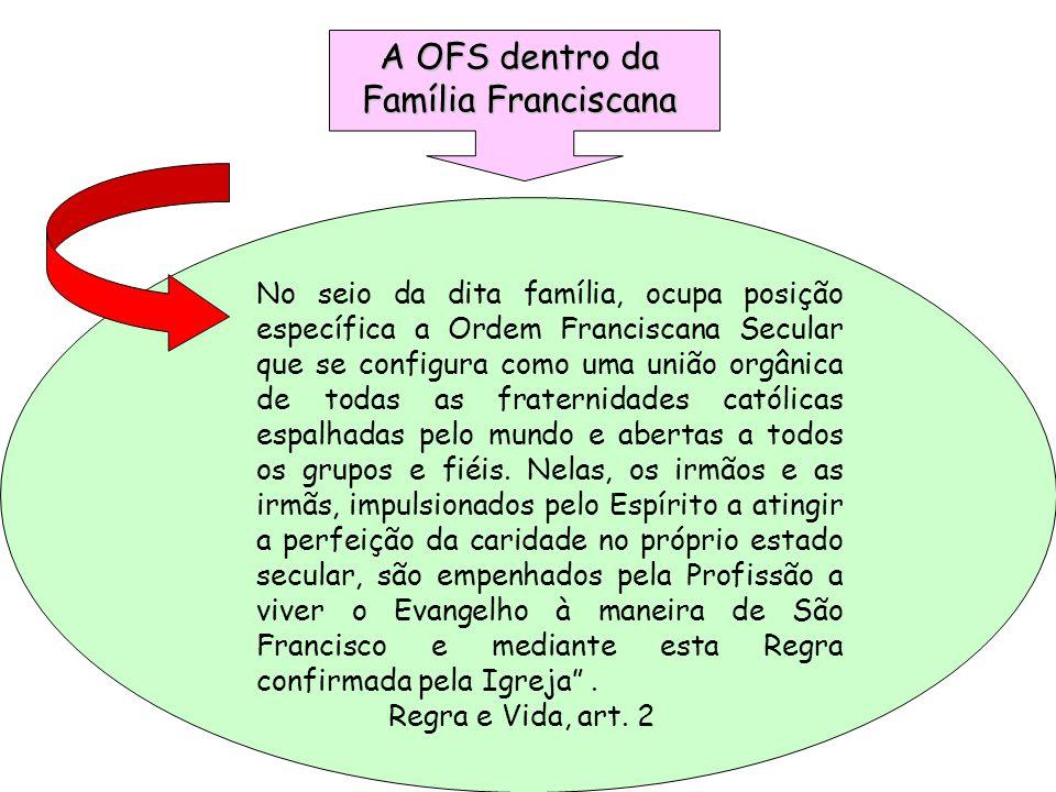 A OFS dentro da Família Franciscana