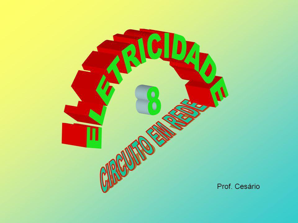 ELETRICIDADE 8 CIRCUITO EM REDE Prof. Cesário