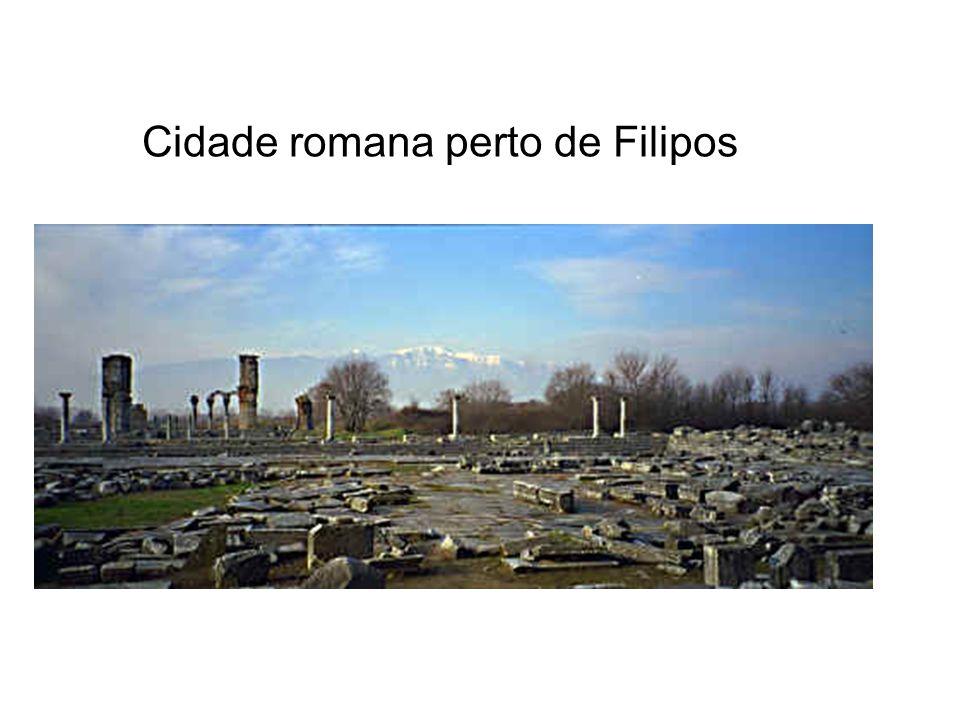 Cidade romana perto de Filipos