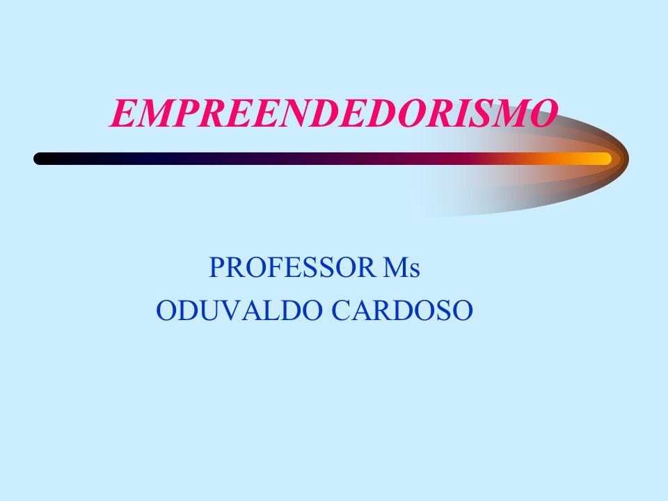 PROFESSOR Ms ODUVALDO CARDOSO