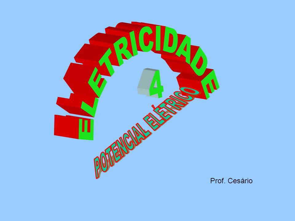 ELETRICIDADE 4 Prof. Cesário POTENCIAL ELÉTRICO