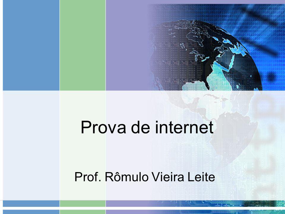 Prof. Rômulo Vieira Leite