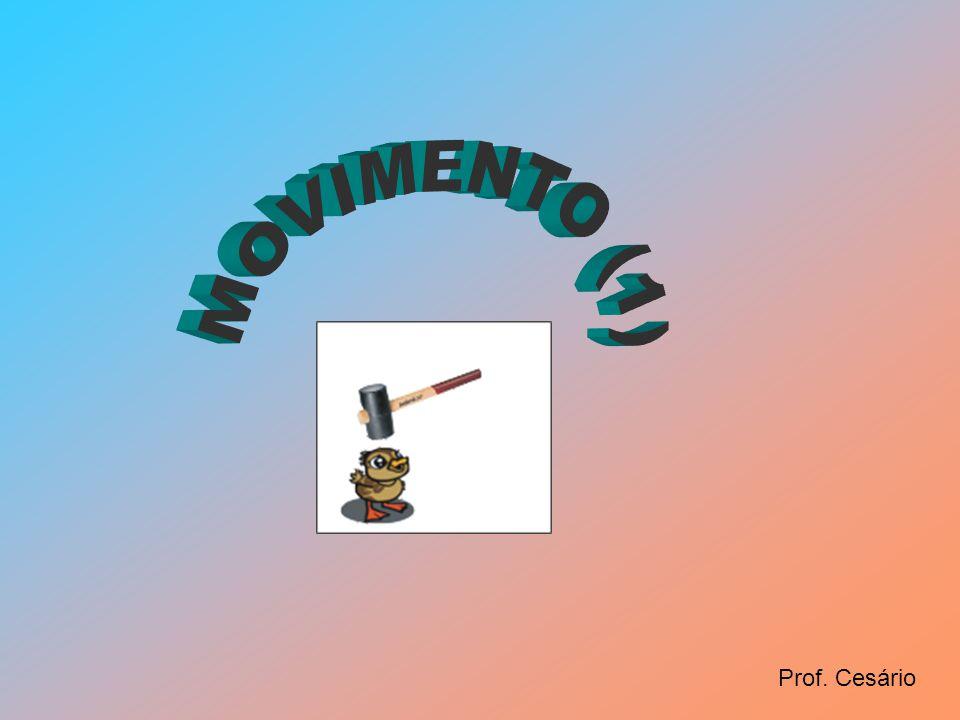 MOVIMENTO (1) Prof. Cesário