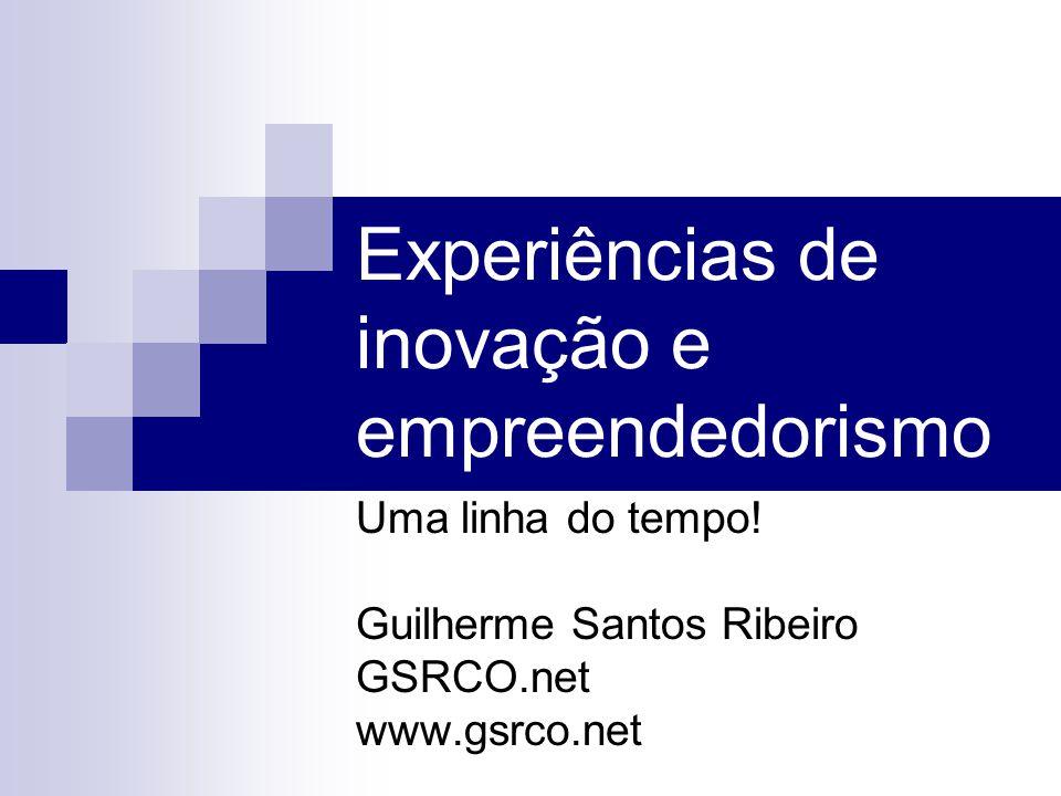 Experiências de inovação e empreendedorismo