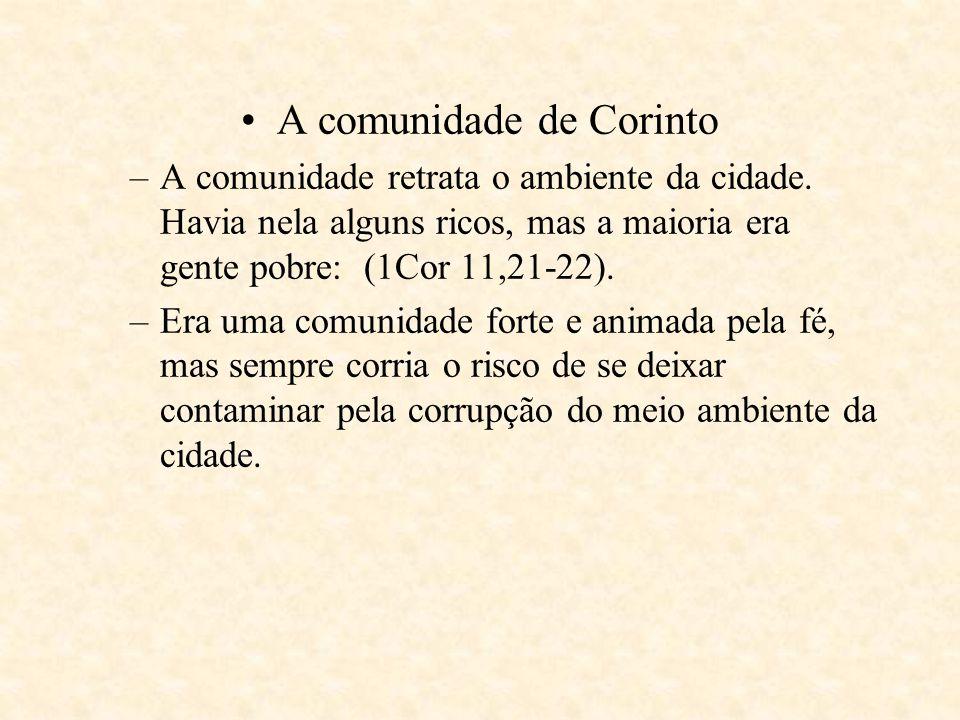 A comunidade de Corinto