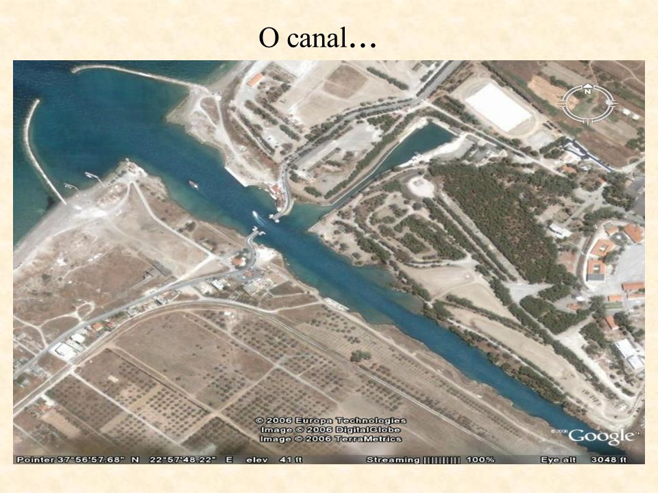 O canal...