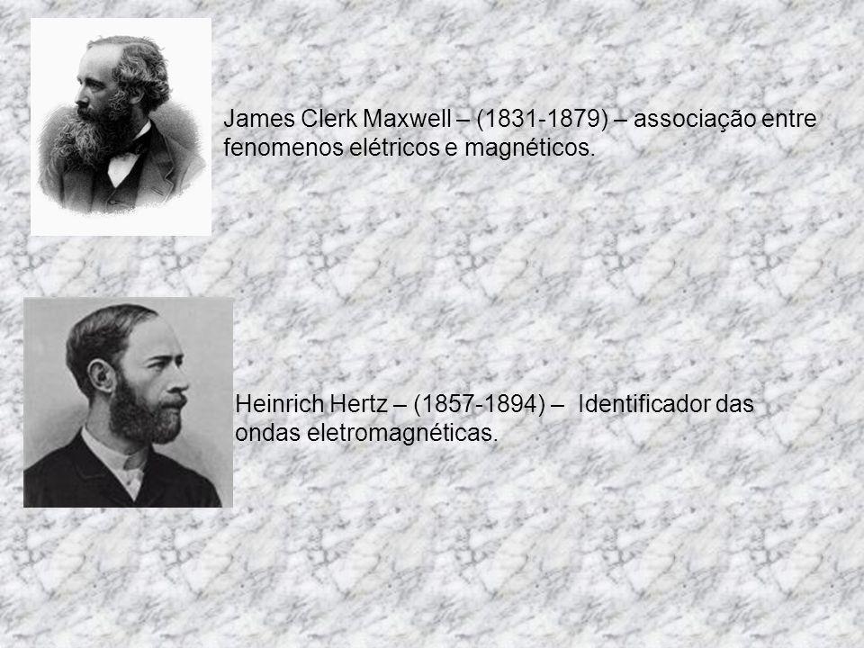 James Clerk Maxwell – (1831-1879) – associação entre