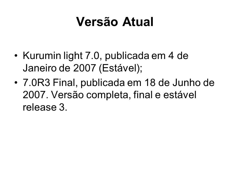 Versão Atual Kurumin light 7.0, publicada em 4 de Janeiro de 2007 (Estável);