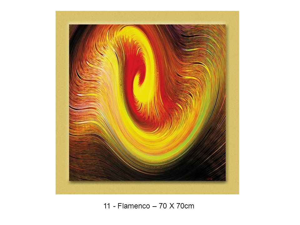 11 - Flamenco – 70 X 70cm