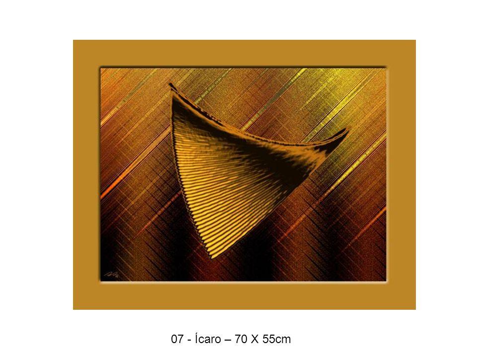 07 - Ícaro – 70 X 55cm