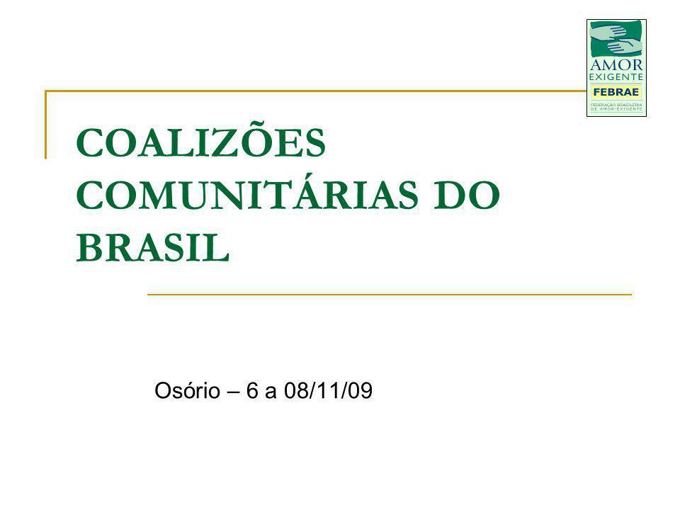 COALIZÕES COMUNITÁRIAS DO BRASIL