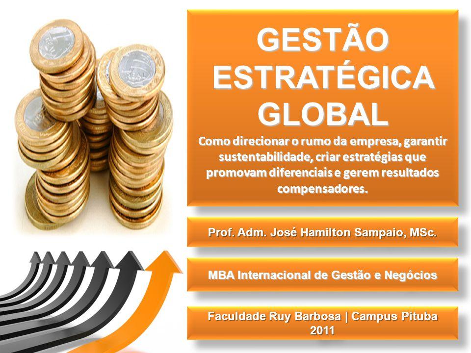GESTÃO ESTRATÉGICA GLOBAL