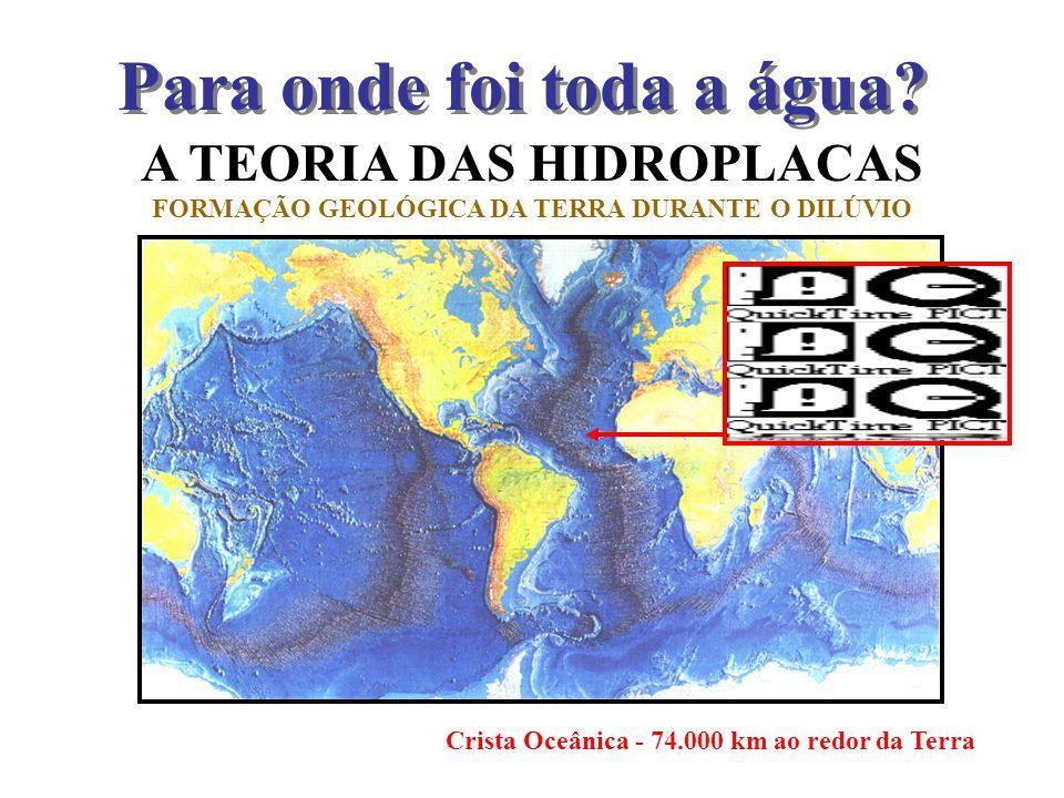 A TEORIA DAS HIDROPLACAS FORMAÇÃO GEOLÓGICA DA TERRA DURANTE O DILÚVIO