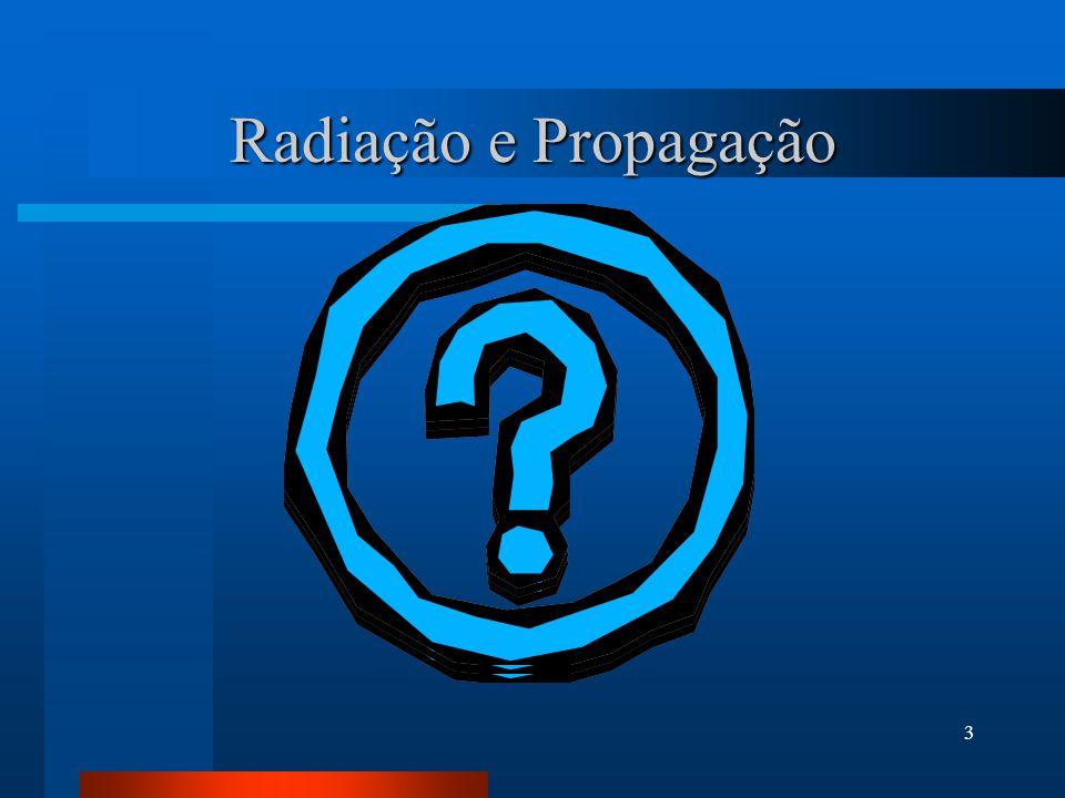 Radiação e Propagação