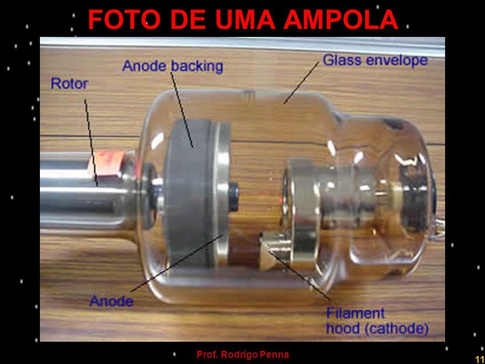 FOTO DE UMA AMPOLA Prof. Rodrigo Penna