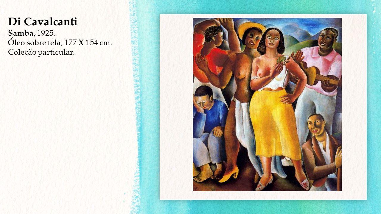 Di Cavalcanti Samba, 1925. Óleo sobre tela, 177 X 154 cm.