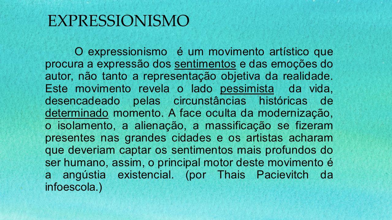 EXPRESSIONISMO