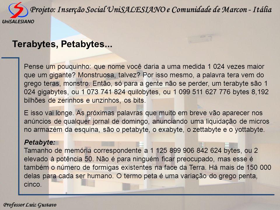 Terabytes, Petabytes...