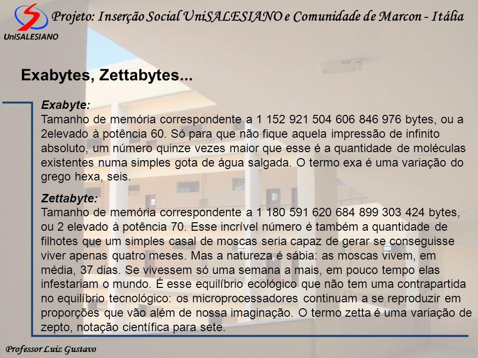 Exabytes, Zettabytes...