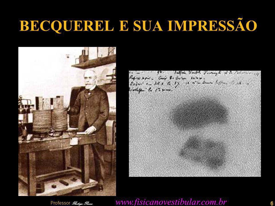 BECQUEREL E SUA IMPRESSÃO