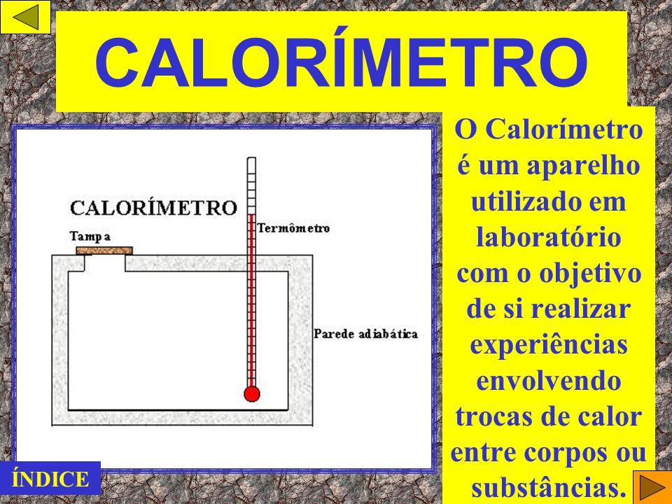 CALORÍMETRO