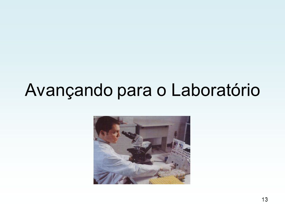 Avançando para o Laboratório